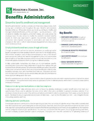 Georgia Employee Benefits Administration Solution Guide