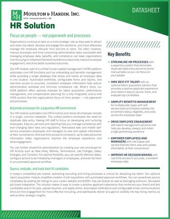 Georgia HR Solution Software Cover