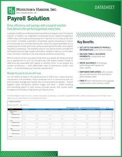 Georgia Payroll Solution Datasheet