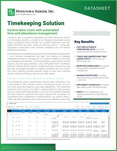 Timekeeping Solution-cover