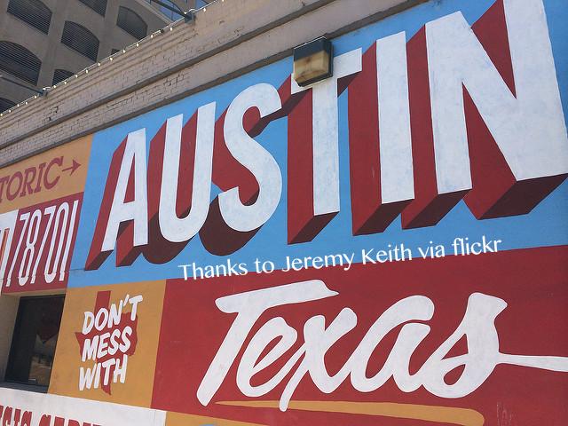 Austin Texas sign