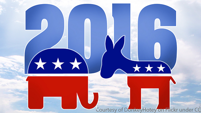 2016 election banner