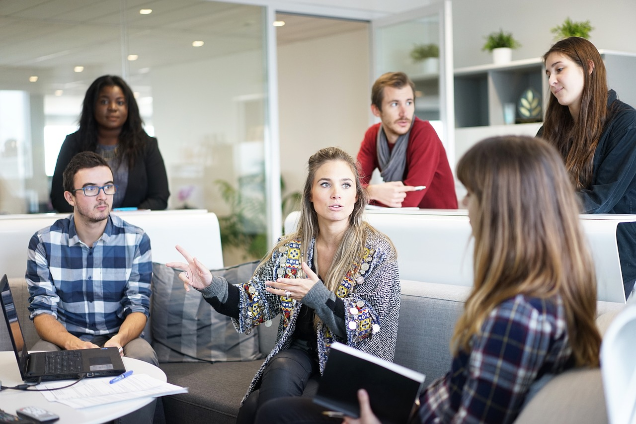 HR teamwork in a small business